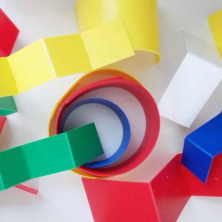 Formes hyper colorées d'Olivier ROCHEAU