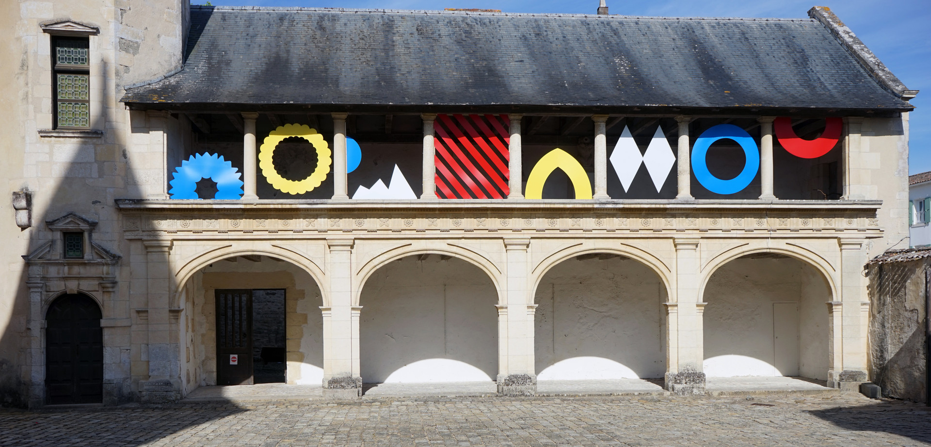 Installation Monumentale - Olivier ROCHEAU - Hôtel de Clerjotte