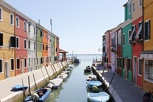 Colorful Venice Lagoon