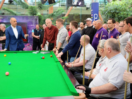 RR Cue Cases supports the Disability Snooker Community