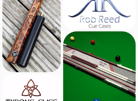 RR Cue Cases in Partnership with Tyrone Cues for Big Launch