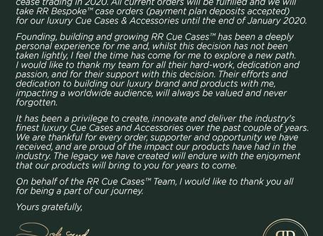 RR Cue Cases™ Closure