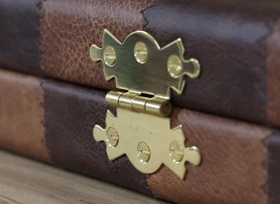 Case Hinges (Solid Polished Brass)