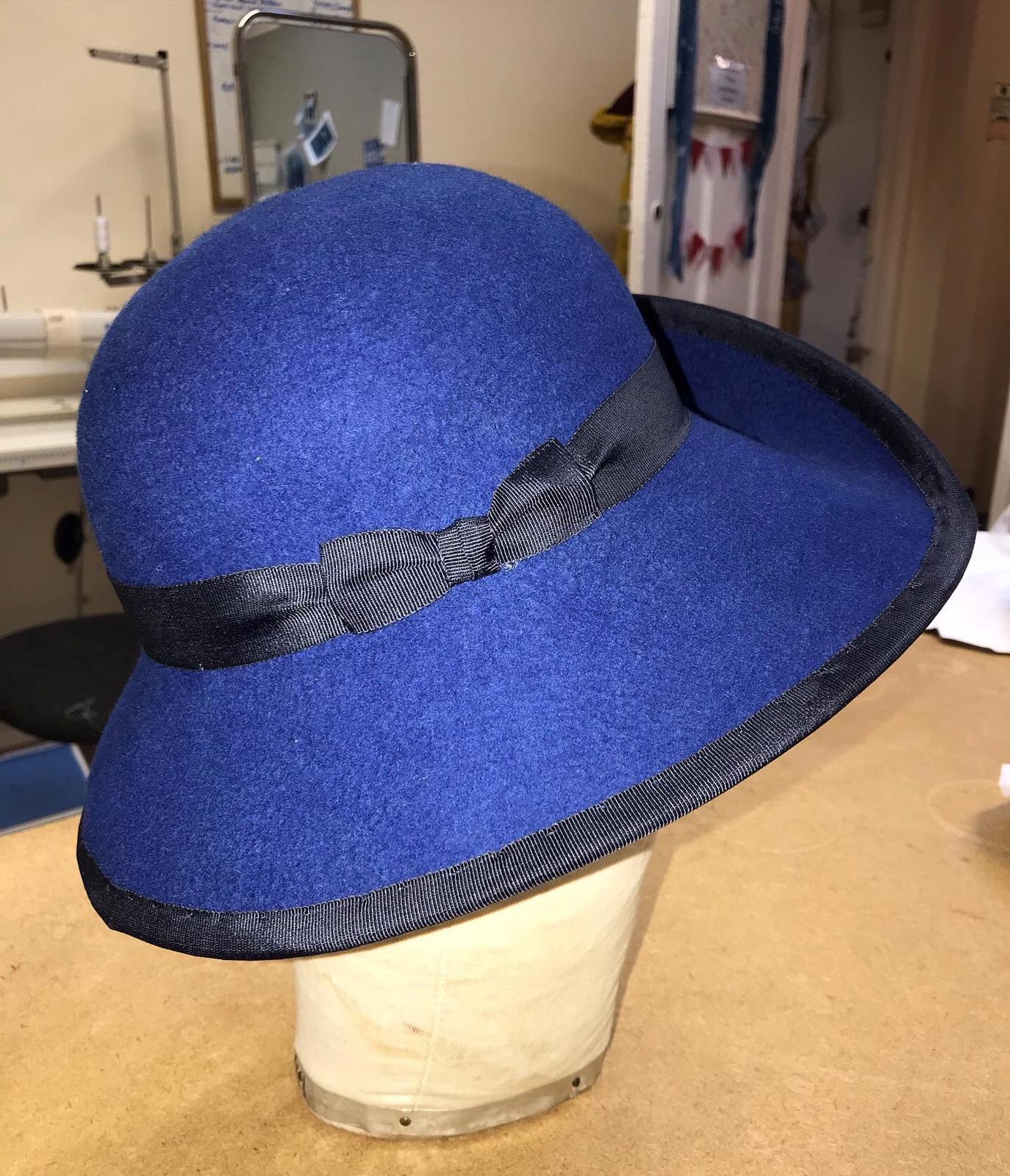 1940's Inspired Felt Hat