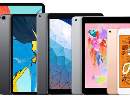 Qual iPad comprar? Uma análise do iPad 7, iPad mini 5, iPad Air 3 e iPad Pro