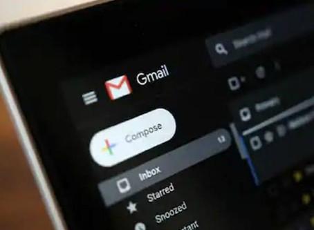 Modo Escuro do aplicativo Gmail finalmente finaliza seu lançamento no iPhone e iPad
