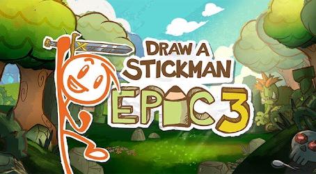 Jogo 'Draw a Stickman: EPIC 3' é lançado e é uma ótima opção na quarentena