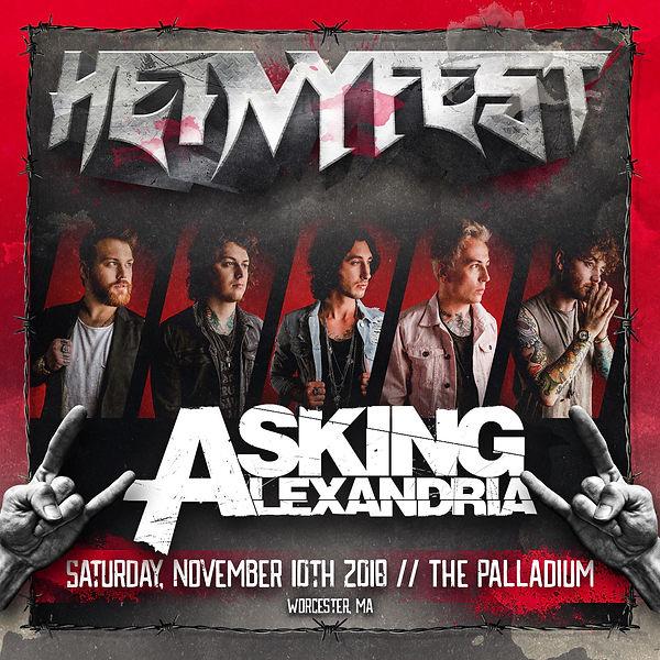 Asking Alexandria Spotify