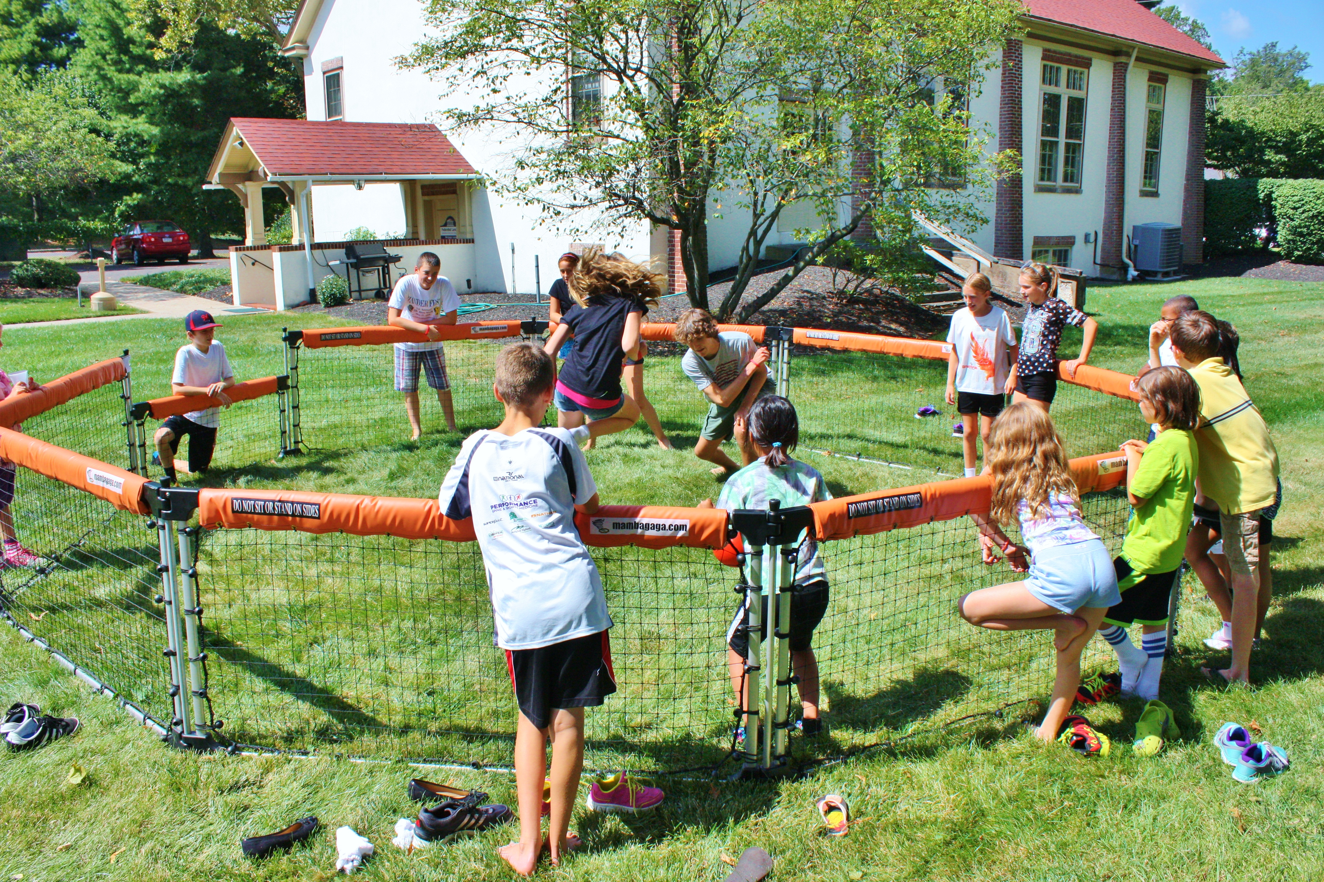GaGa Pit with church youth group