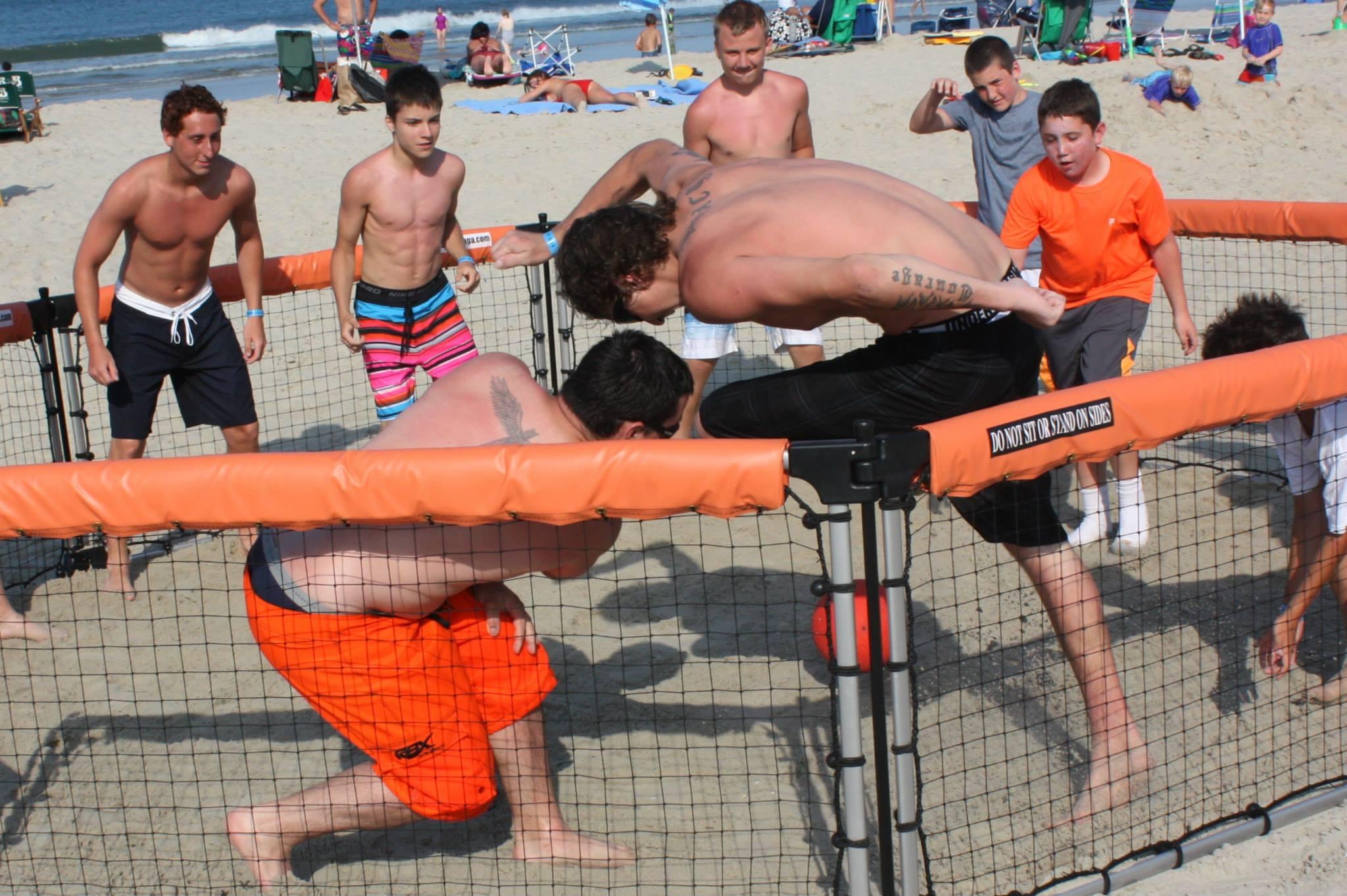 GaGa Pit on beach