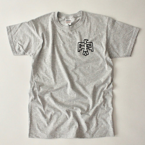 "Hermanos Gutiérrez T-Shirt ""THUNDERBIRD"" GREY"