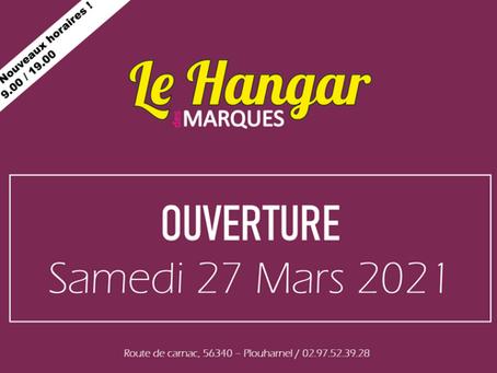 Ouverture Le Hangar des Marques, Plouharnel, Samedi27 mars