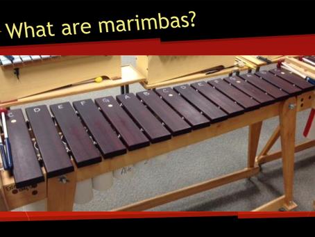Did you say marimbas?