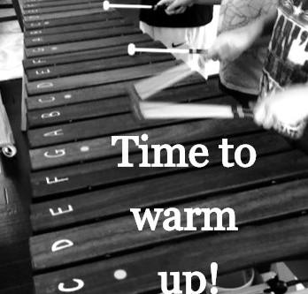 Marimba Warm Ups:  Set up for success!