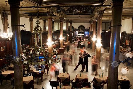 traditional tango dance salon