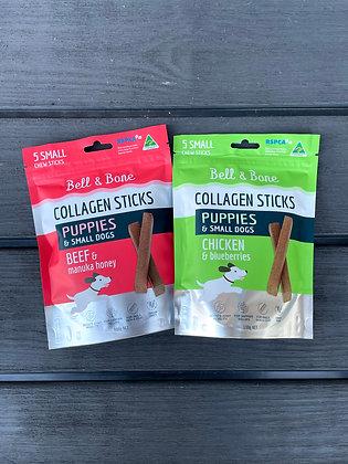 Puppy & Small Dog Collagen Sticks - Bell and Bone