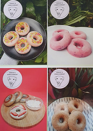 Doggy Donuts Recipe Cards