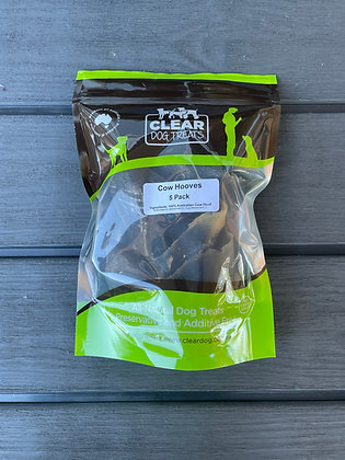 Cow Hooves - Clear Dog Treats