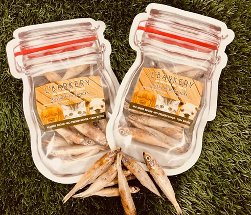 L'Barkery Aussie Fish Snacks