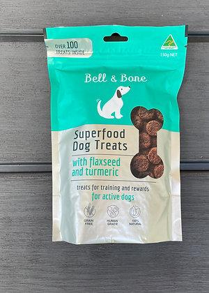 Superfood Dog Treats: Flaxseed & Turmeric