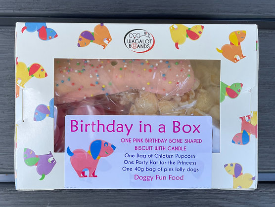 Birthday in a Box - Pink