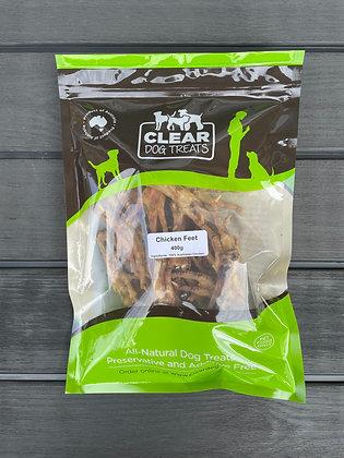 Chicken Feet 400g - Clear Dog