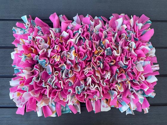 Snuffle mat: Pink Butterflies