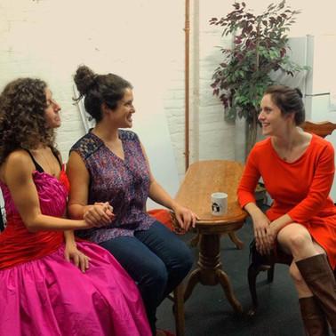 "Parity Plays ""Helen Keller Visits Martha Graham's Dance Studio"""