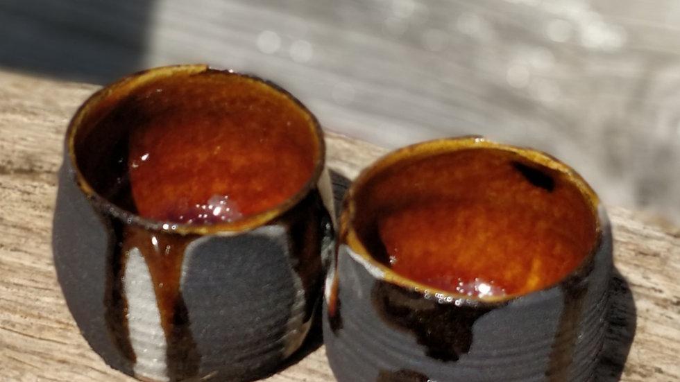 Pair of little shot glasses