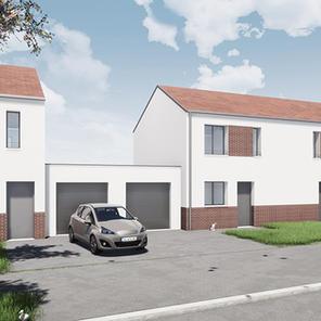 20 maisons individuelles et 6 logements intermédiaires à Guignicourt (02)