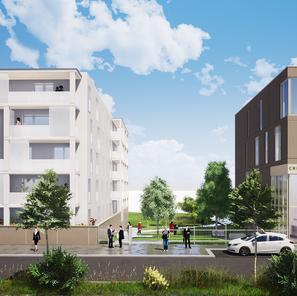 32 logements collectifs et un Centre Agri Viti à Laon (02)