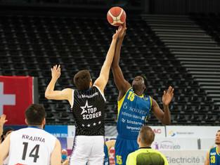 SB League Final - Olympic domine le premier acte