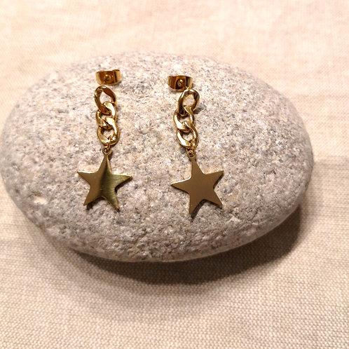 Boucles d'oreille BIG STAR