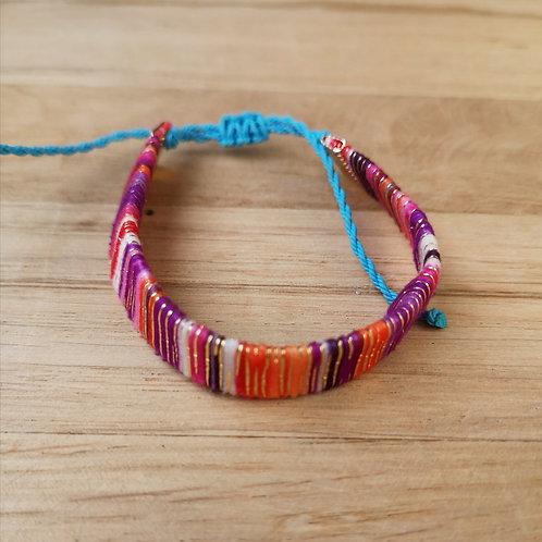 Bracelet BRASILIA fushia simple