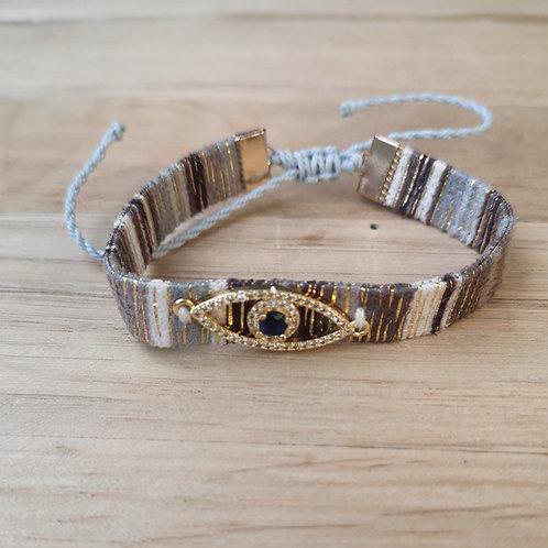 Bracelet BRASILIA oeil strass