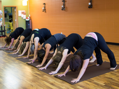 Destress with yoga and massage!