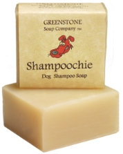 All Natural, Herbal, Dog Shampoo Soap with Carrying Case
