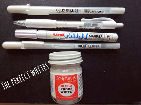 The Perfect Whites! [artist review on highlight products]
