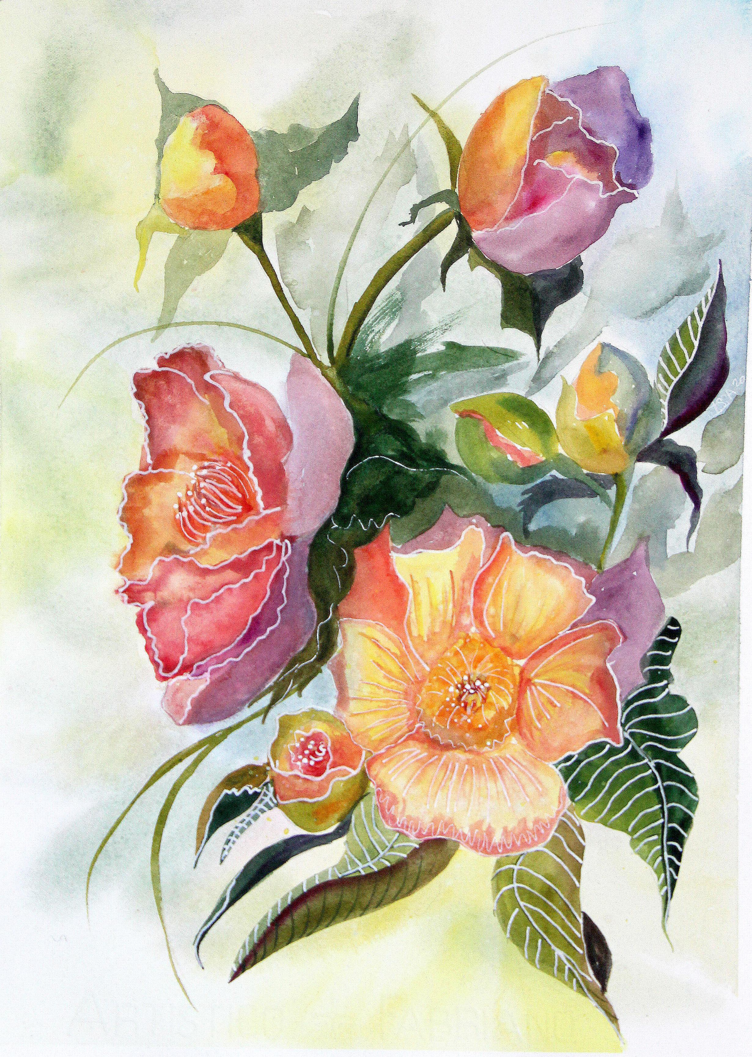 Syrian hibiscus