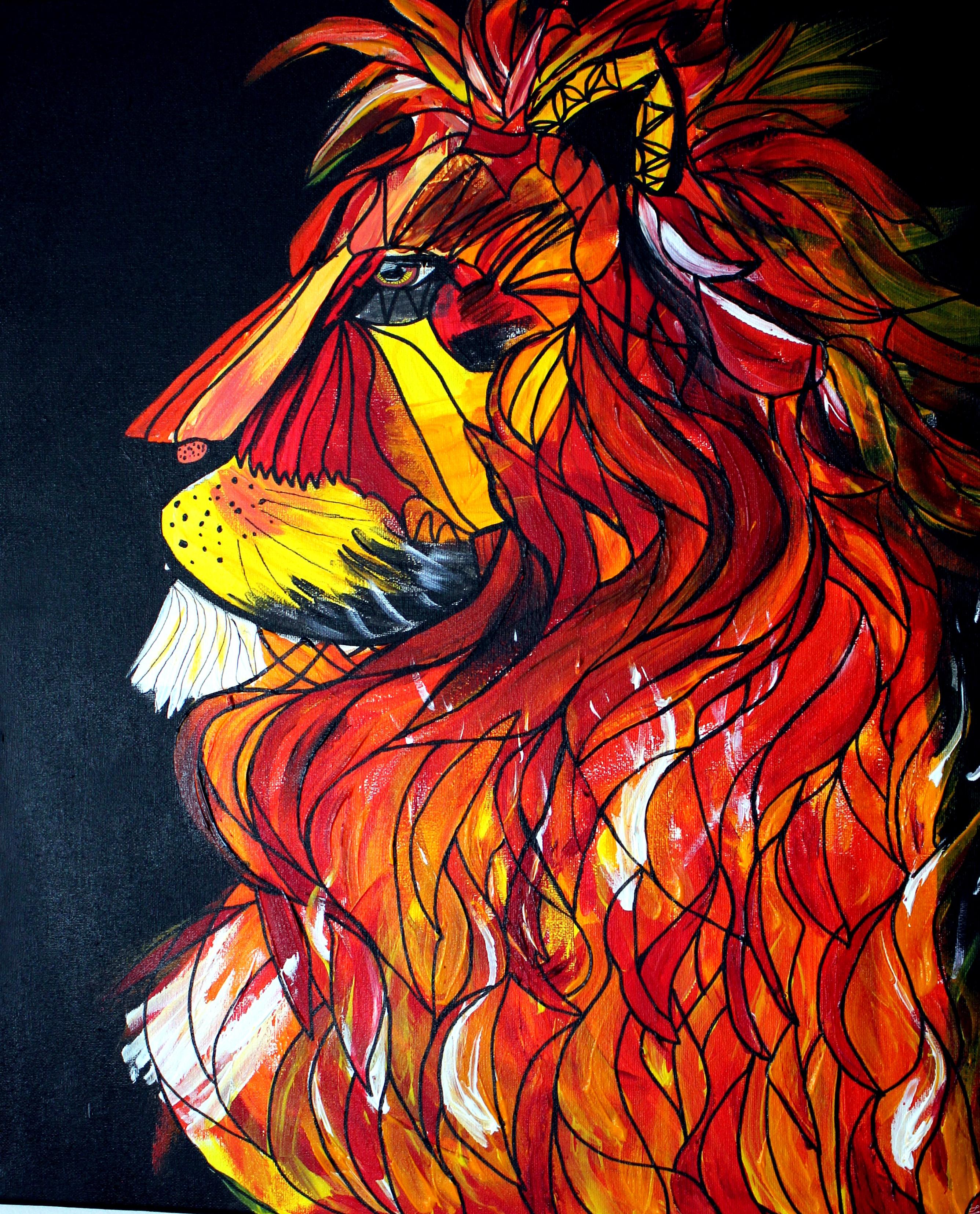 The Burning Lion