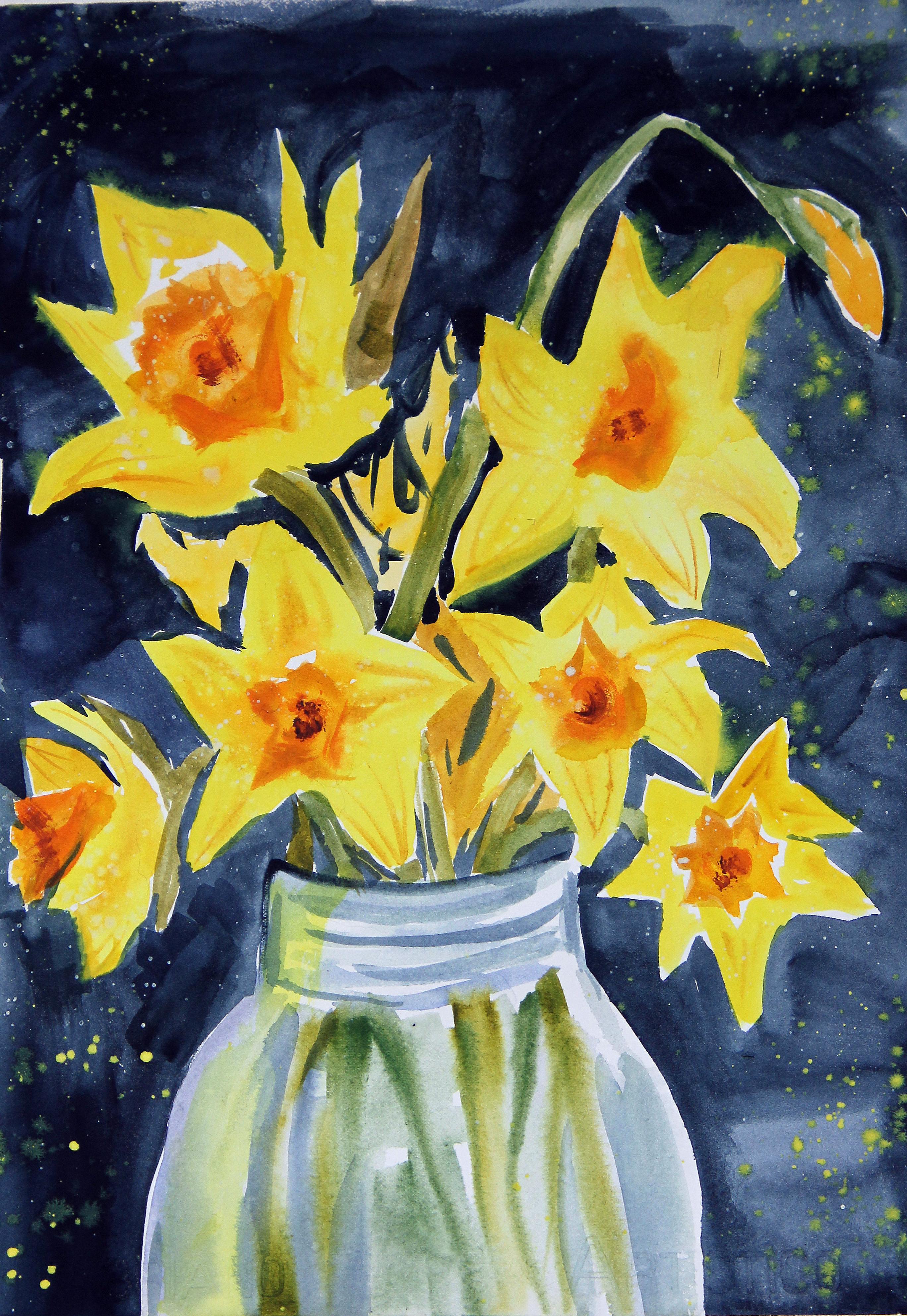 Daffodils in Yellow_2