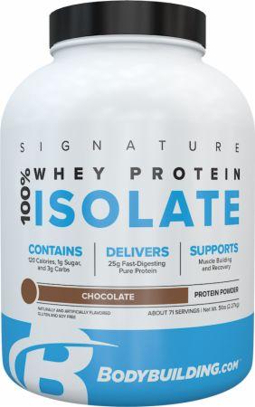 Bodybuilding.com Signature Signature 100% Whey Isolate