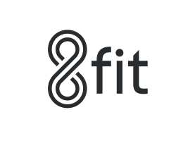 8fit logo - fitness app recommendation for people with CMT