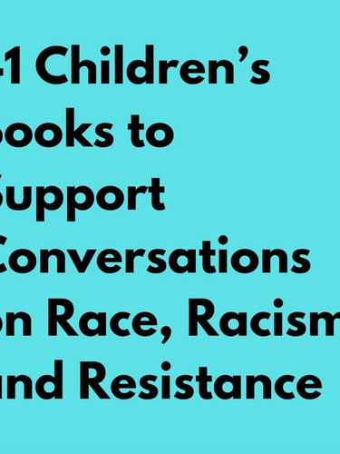 """""""To counter racist socialization and racial bias, experts recommend acknowledging and naming race and racism with children as early and as often as possible."""""""