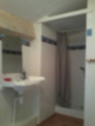 douche, chambre Akoya, les perles de aime
