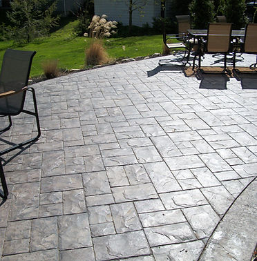 STAMPED CONCRETE FLOORS VANCOUVER