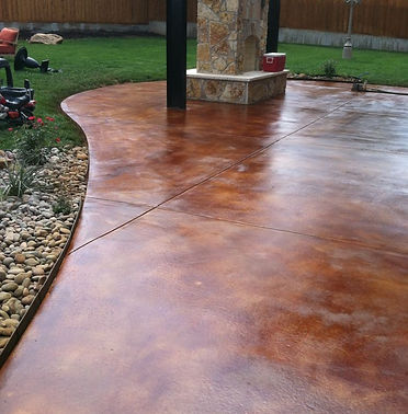 STAINED CONCRETE FLOORS VANCOUVER