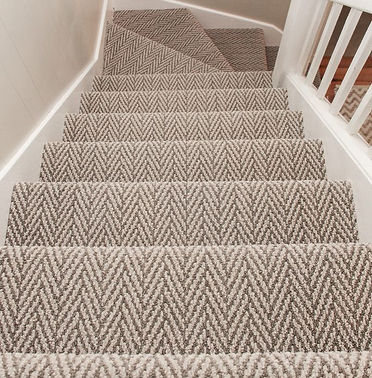 Carpet-stairs installation in Vancouver