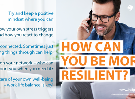 How can you be more resilient?