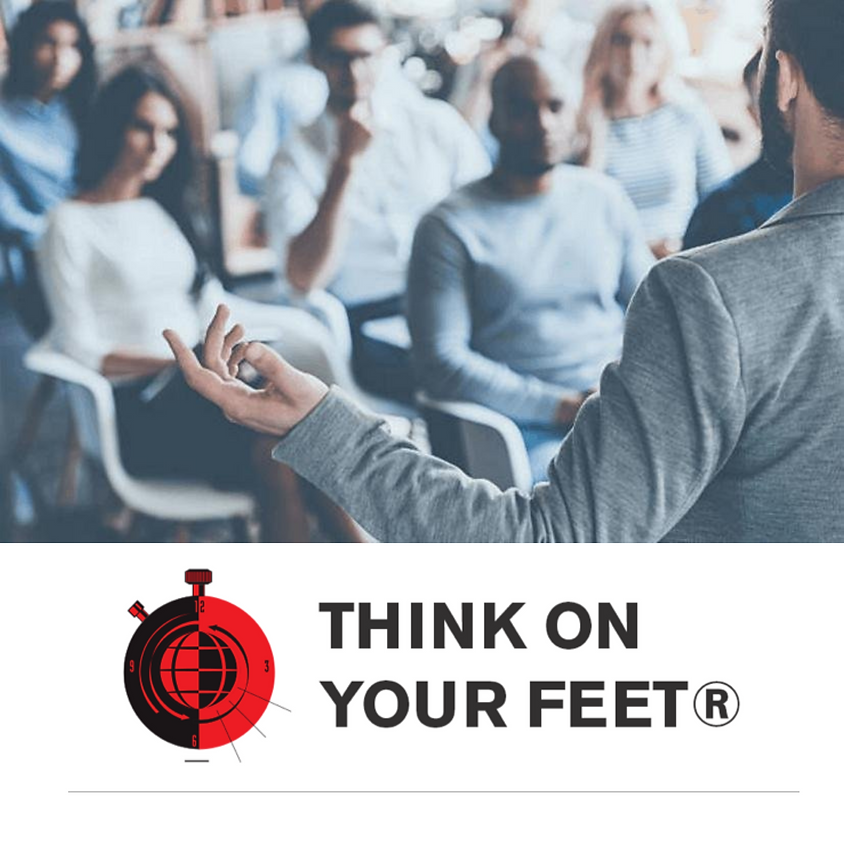 Think on Your Feet® - Sept. 16-17 - 9AM-4:30PM MT both days